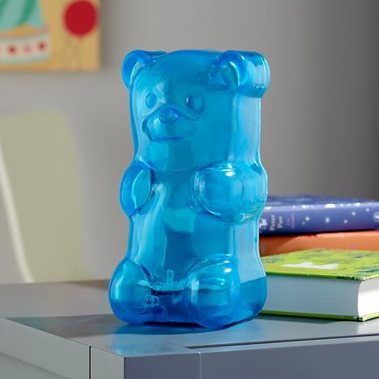 squeezable Gummy Bear nightlight for those who love sweets