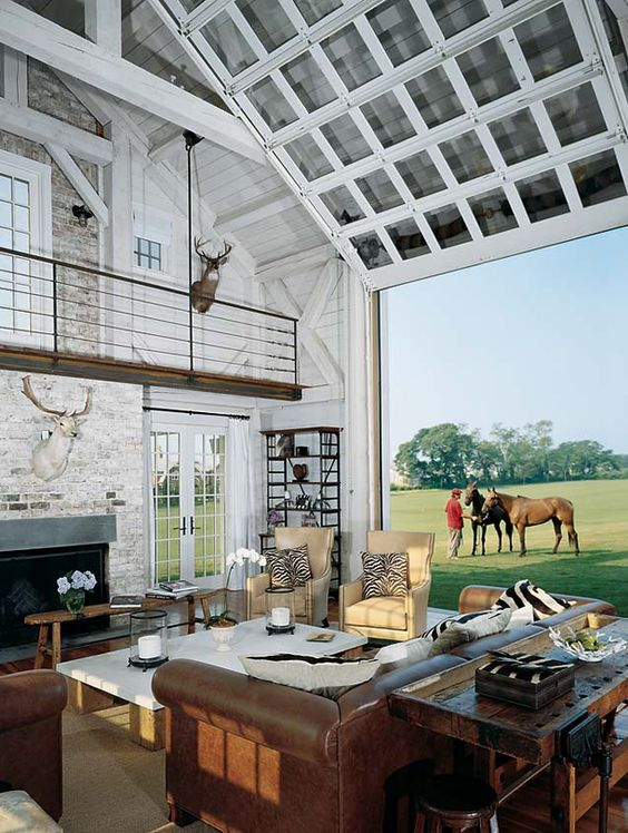 26 Glass Garage Door Ideas To Rock In Your Interiors - DigsDigs