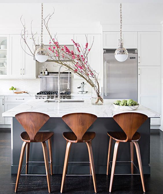 Kitchen Island Table And Chairs: 33 Masculine Kitchen Furniture Ideas That Catch An Eye