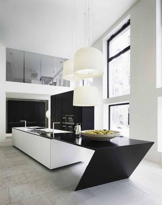 white kitchen island black countertop 33 masculine kitchen furniture ideas that catch an eye - White Kitchen Black Countertop