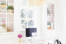 28 unique gold chandelier brings glam to the space