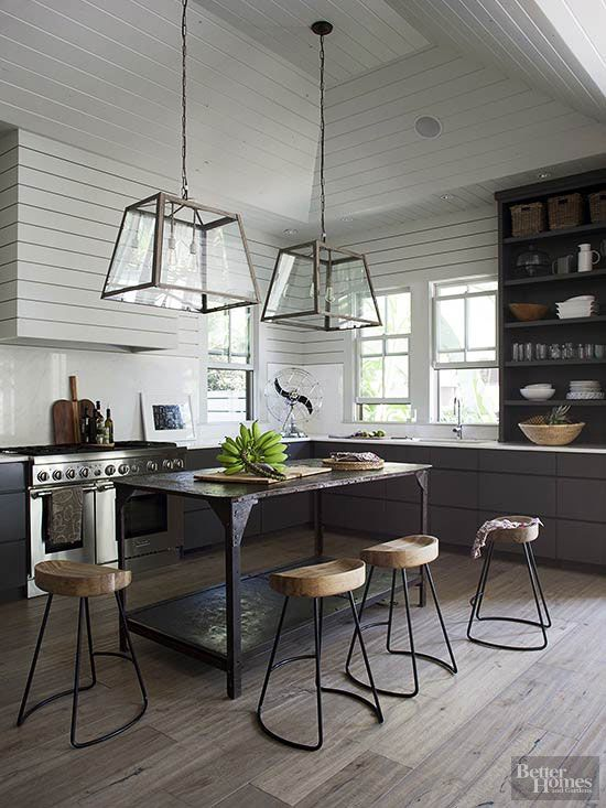 33 Masculine Kitchen Furniture Ideas That Catch An Eye