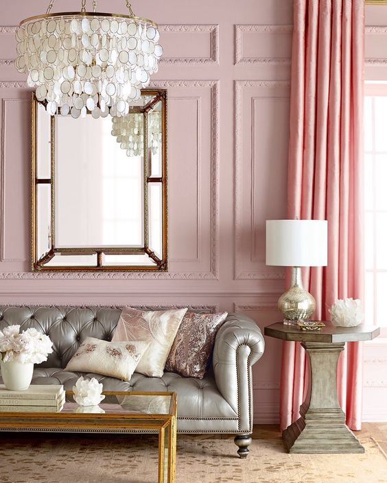 Dusty Pink Bathroom Accessories