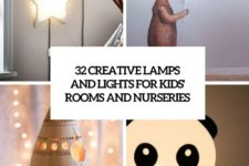 32 creative lamps and lights for kids' rooms and nurseries cover