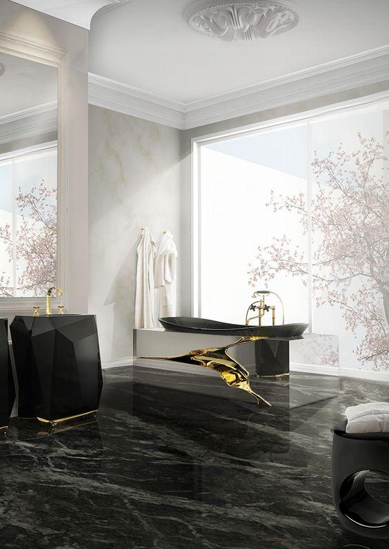 Manly Bathroom Sinks: 33 Modern Pedestal Bathroom Sinks To Make A Statement