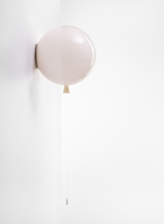 wall balloon lamp will be loved by all the kids around and even adults, too