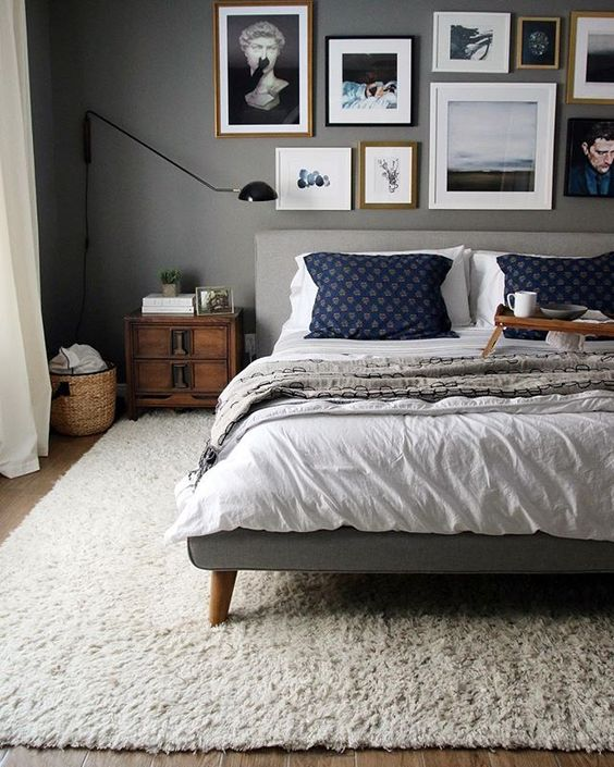 Metallic Masculine Bedroom: 35 Masculine Bedroom Furniture Ideas That Inspire