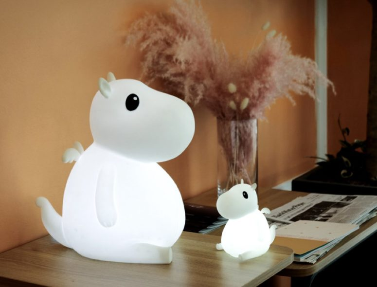Cute Bero Lamp And Companion For Kids
