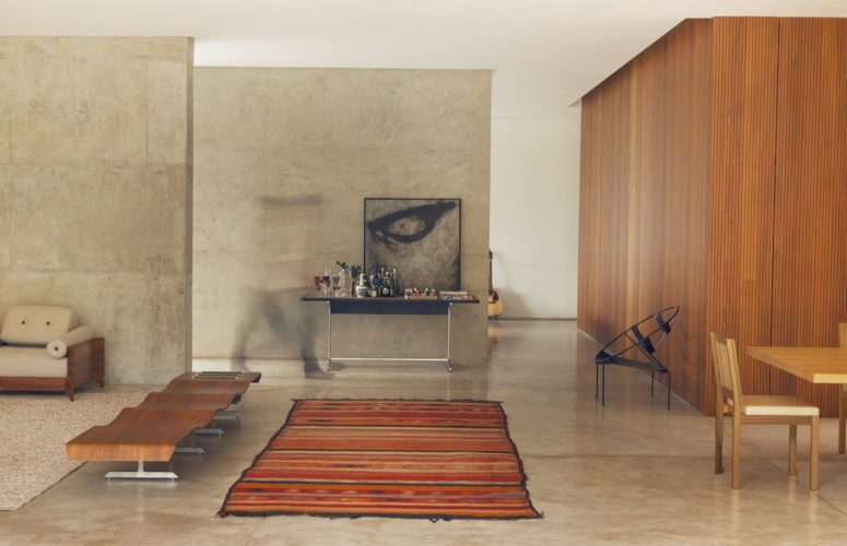 Modern And Brutal House Carrara Of Concrete