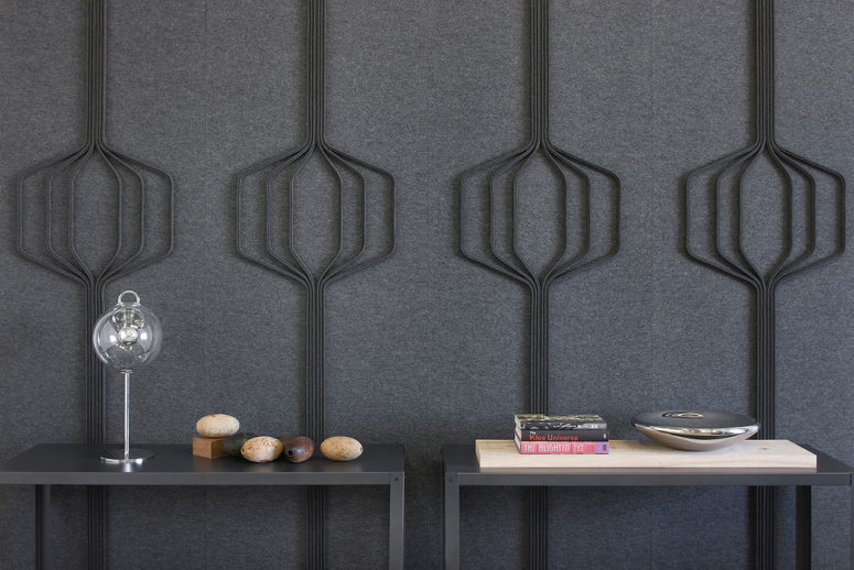 Stylish Modern Sound-Proofing Wall Panels