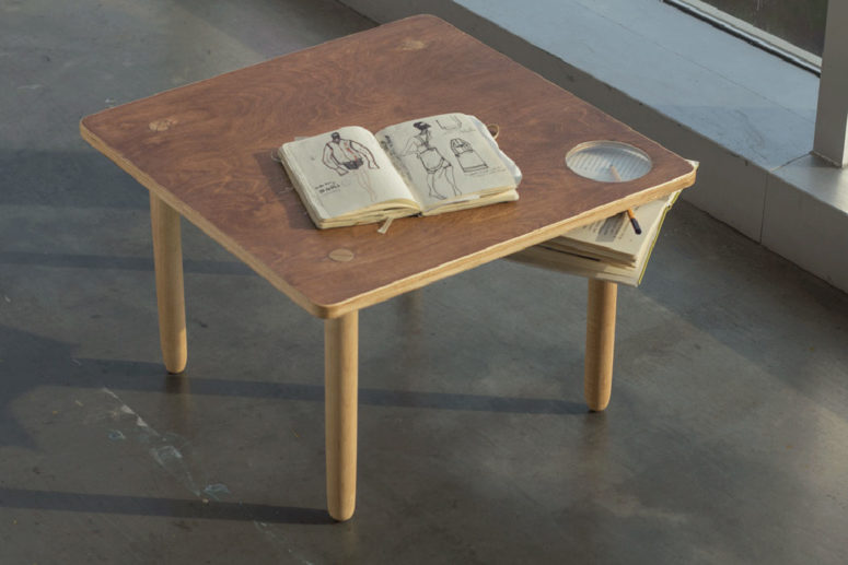 This table has not only a modern and fresh design, it features the Eastern philosophy in flesh