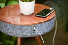 02 There are USB ports for your phones that allow charging