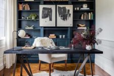 built-in home office ideas