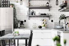 subway style kitchen backsplash
