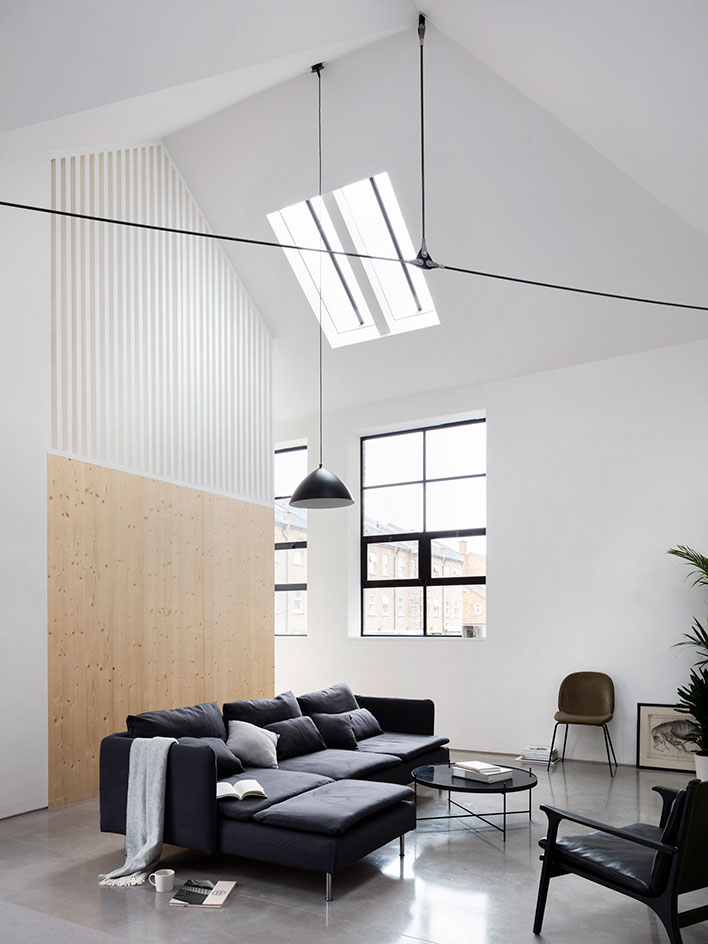 A Schoolhouse Turned Into A Minimalist And Industrial Home Digsdigs