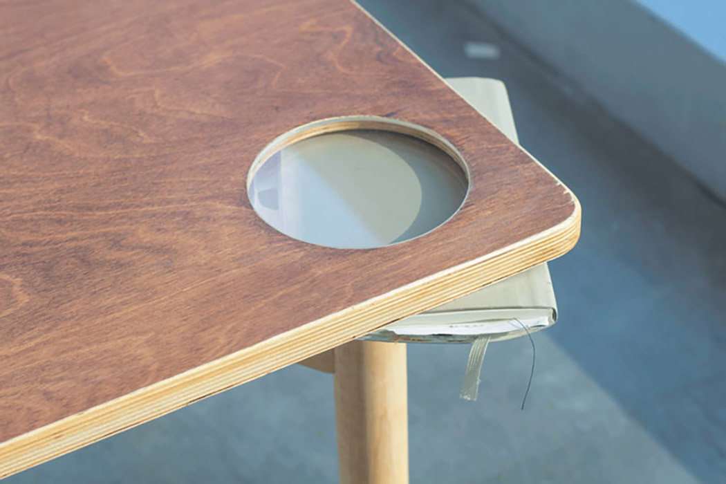 Your table will be perfectly stable with some piece you add, personalize it