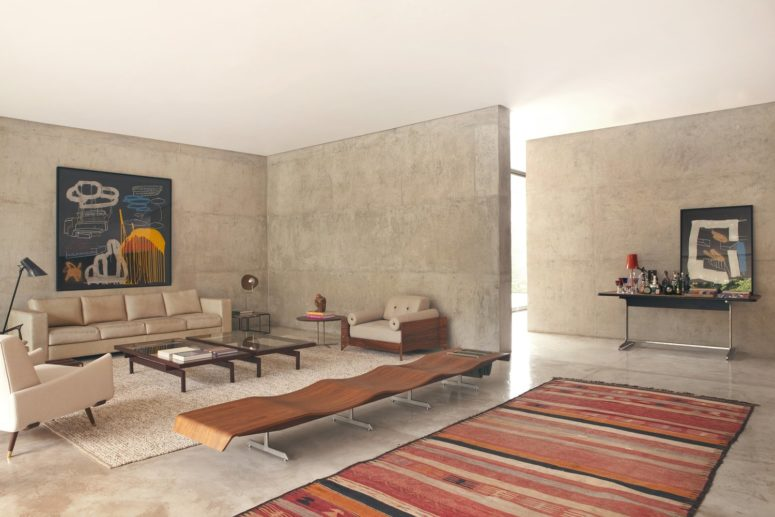 Modern And Brutal House Carrara Of Concrete Digsdigs