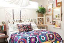 pillows and boho textiles