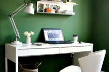 06 feel more natural and calm with a green statement wall