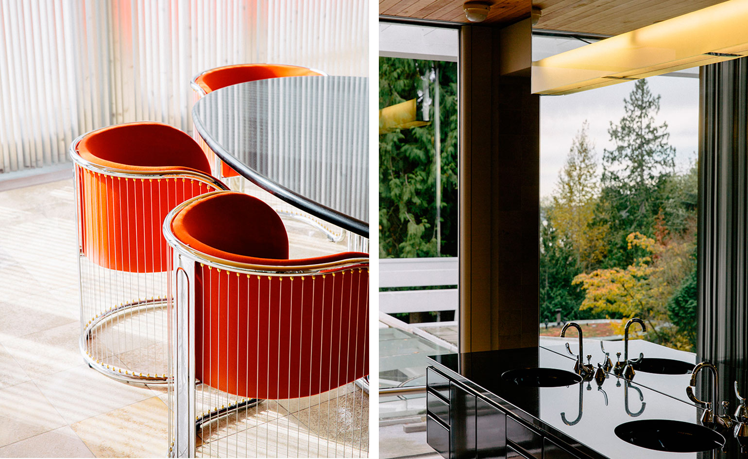 The furniture and fittings are manufactured by Eppich's Ebco Industries