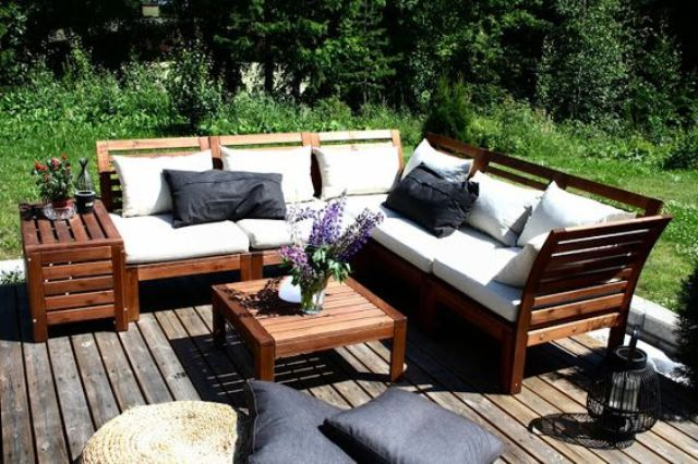 30 Outdoor Ikea Furniture Ideas That Inspire DigsDigs : 10 Ikea Applaro looks very cozy and modern at the same time the stain contrasts with white upholstery from www.digsdigs.com size 640 x 426 jpeg 69kB