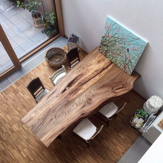 Slab Dining Room Table: 28 Unique Dining Tables To Make The Space Spectacular