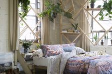 29 lots of greenery here and there perfectly completes the boho decor