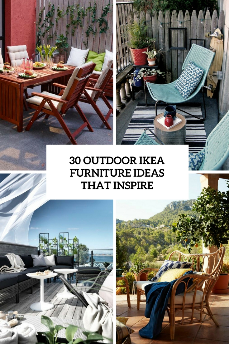 Outdoor Ikea Furniture Ideas That Inspire Cover