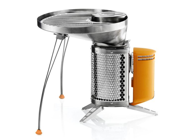 Biolite Portable Grill and Campstove (via design-milk.com)