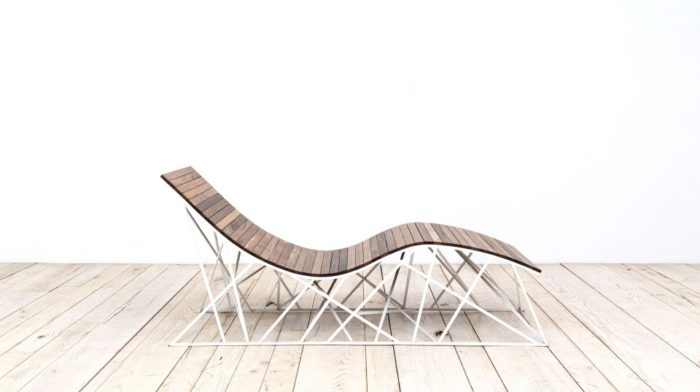 Cyclone lounger by Uhuru (via www.furniturefashion.com)