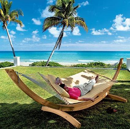 Garden Hammock by Frontgate (via www.furniturefashion.com)