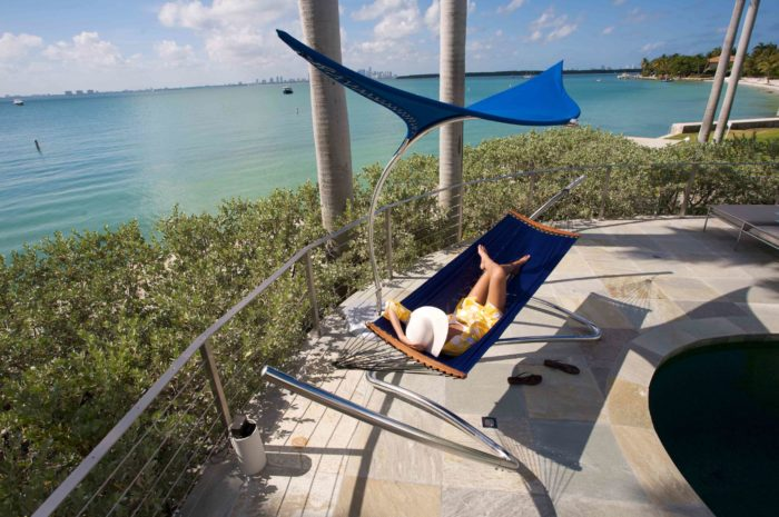 Air Lounge Hammock by Tuuci (via www.furniturefashion.com)