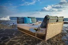 Portofino daybed by roberti Rattan