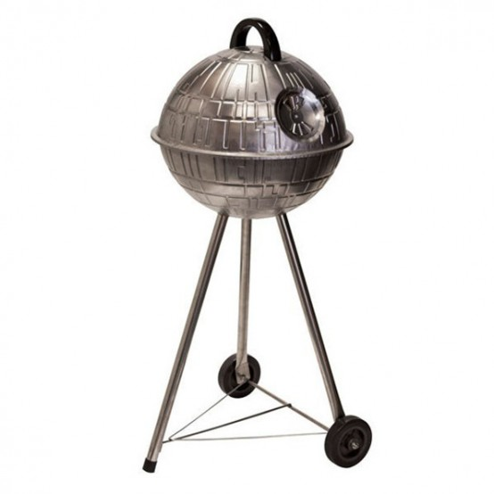 Death Star grill by Fowndry (via www.digsdigs.com)