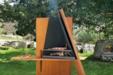 Mikadofocus grill with storage by Focus