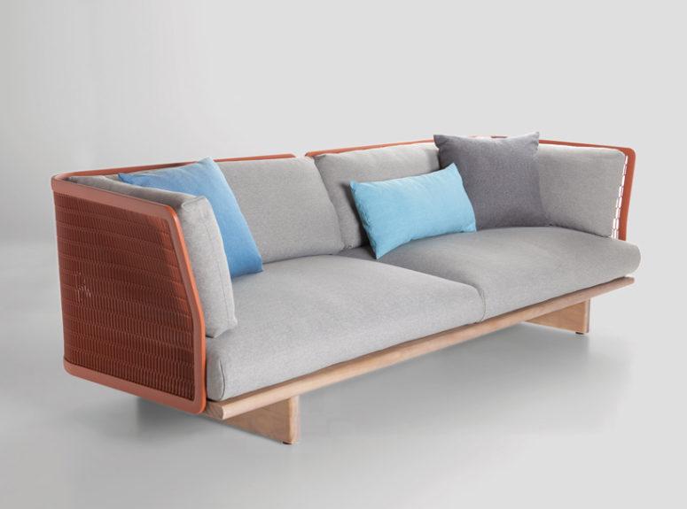 Mesh collection by Patricia Urquiola (via www.designboom.com)
