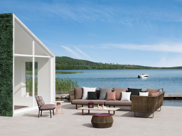 Braided outdoor furniture by Rodolfo Dordoni for Kettal (via design-milk.com)