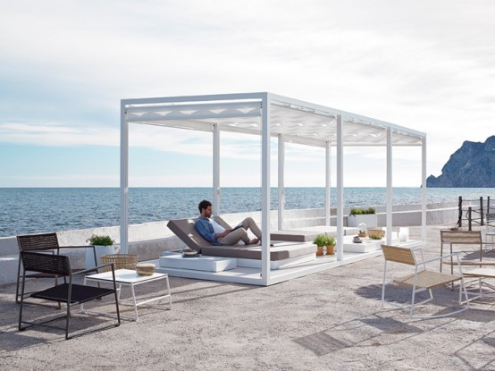 modern outdoor furniture collection by Gandía Blasco (via www.digsdigs.com)