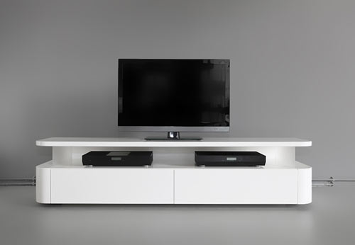 media console by  Ronald Knol (via design-milk.com)