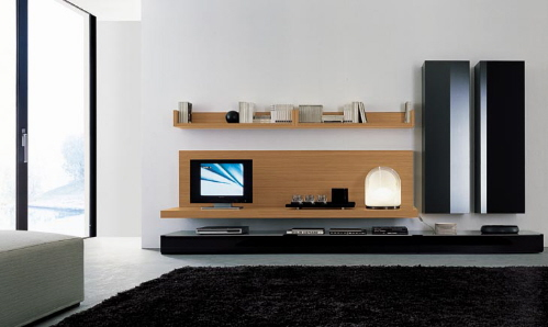 wall TV units and media centers by Jesse (via www.furniturefashion.com)