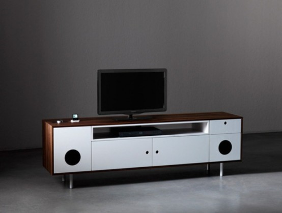 Caixa media cabinet by Paolo Cappello (via www.digsdigs.com)