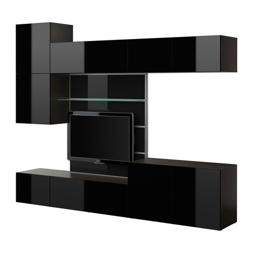 10 stylish modern media cabinets and consoles digsdigs. Black Bedroom Furniture Sets. Home Design Ideas