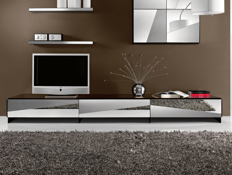 10 Stylish Modern Media Cabinets And Consoles - DigsDigs