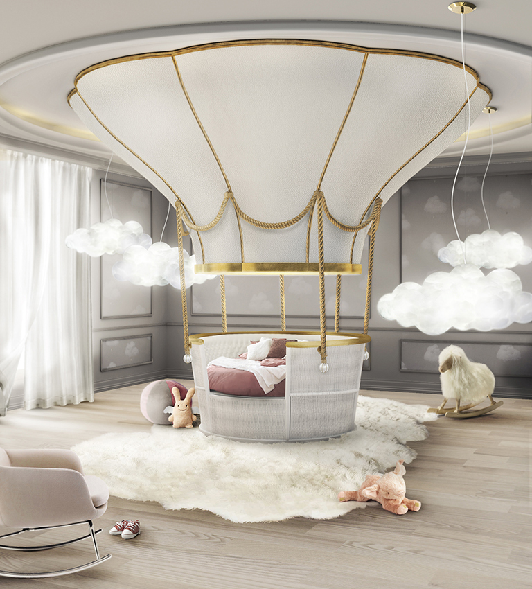 Fantasy Air Balloon bed  (via www.circu.net)