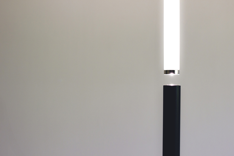 Equilibrio lamp shows gravity and attraction and symbolizes darkness and lights, it's a very meaningful piece