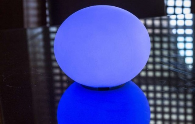 Indoor And Outdoor LED Flatball Lamp