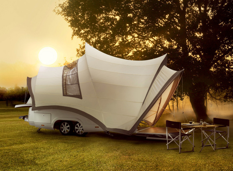 Opera Camper is a luxury mobile home for comfy camping anywhere you want