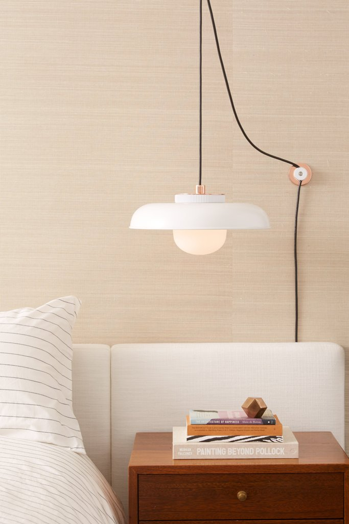 The Hoist can be hung anywhere even if the outlets are far away, and you can hang it higher or lower