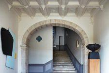 original vaulted ceiling design