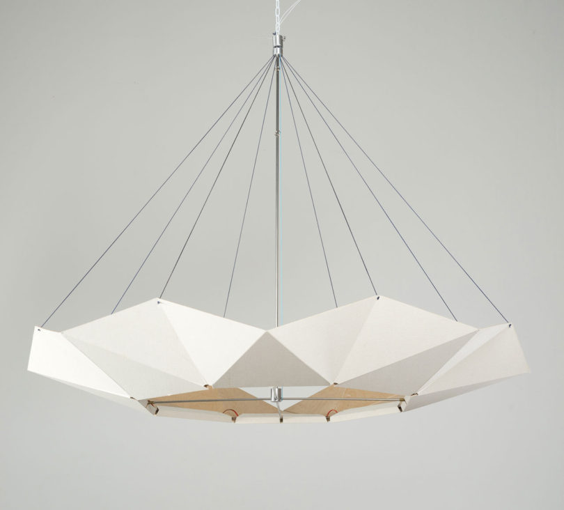 b&w pendant lamp
